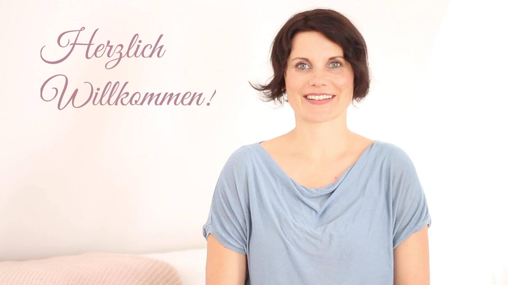 Willkommensvideo Geburtsvorbereitung Kristin Graf